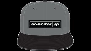 kšiltovka NAISH Headwear Rectangle Patch Snapback - šedá