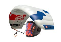 Set kite PLKB Lynx v5 ultralight + Magnet bar
