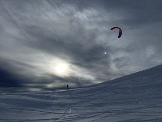Snowkiting - Pracovni neděle