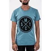 Men's T-Shirt MYSTIC Vinyl Tee, Winter Blue