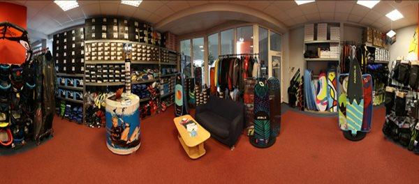 Navštiv naší kamennou prodejnu - kite shop KITEBOARDING.CZ.