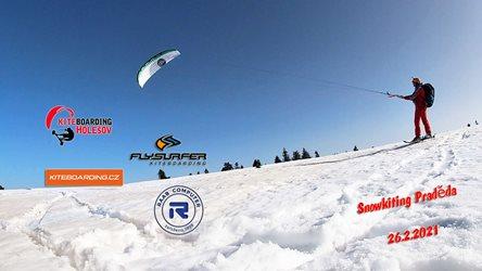 Snowkiting - Snowkiting DĚDA