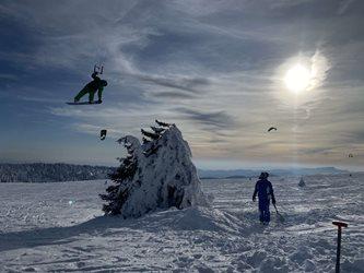 Snowkiting - Soustřéďo Martinky den 2