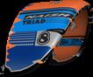 kite 2020-21 Naish Triad (Orange-Blue-Grey)