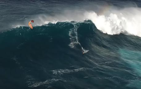 Kitesurfing-Jesse-Richman-Maui-drone-kiteboarding-Jesse Richman kiteboarding
