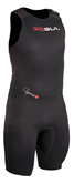 RESPONSE 3/2MM FL SHORT JOHN GUL WETSUIT RE5304 BLACK