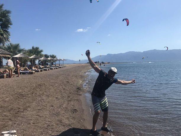 Kitesurfing-Recko-ve-srabu-