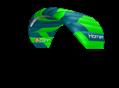 kite 2016 Peter Lynn Hornet green