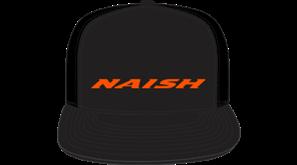 kšiltovka NAISH Headwear Trucker – černá/oranžová