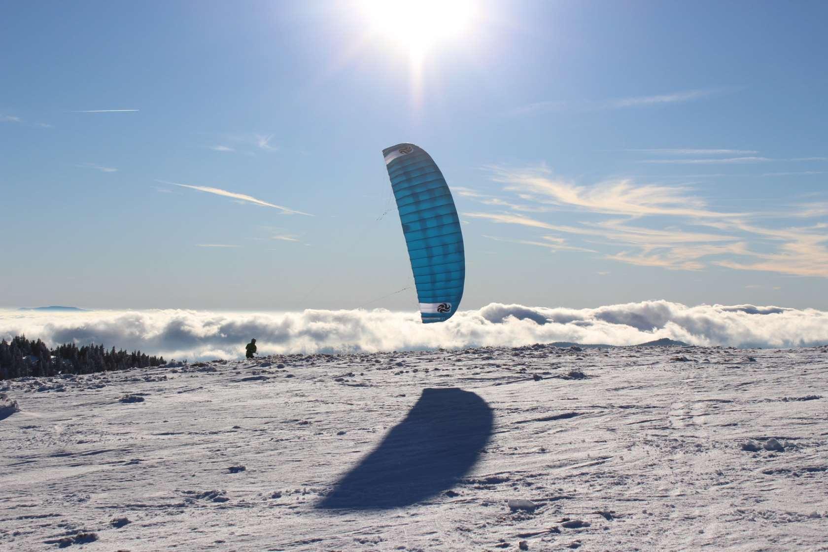 recenze Peter Lynn Nova - snowkiting