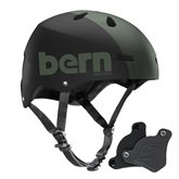 Helmet Bern Macon H20 WEP matte army green team ltd