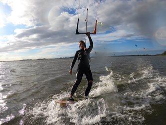 Kitesurfing - Podzimní Rujána