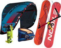 Set kite Naish Ride 18/19 + snowkiteboard NOBILE NHP 2018