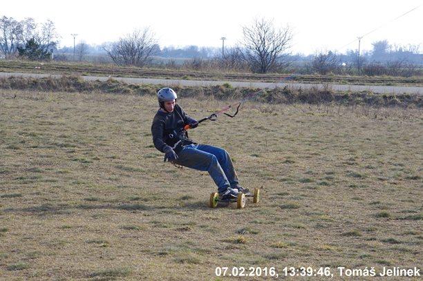 Landkiting - Landkiting test day na Slatině-