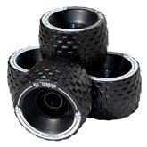 Longboard wheels MBS All terrain 100mm - black