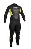 RESPONSE 3/2MM FL GUL WETSUIT RE1321 LIME