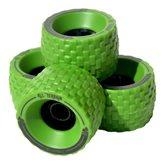Longboard kolečka MBS All terrain 100mm - zelená