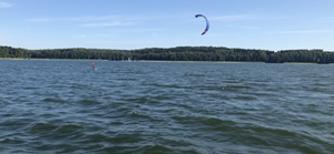 Kitesurfing-Mazury-foiling-