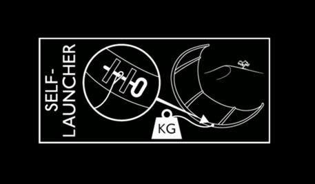 Kitesurfing-Flysurfer-kite-self-launcher-Self kite launcher