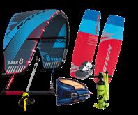 Set kite Naish Dash 18/19 + kiteboard Naish Motion 2019