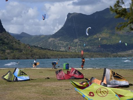 Kitesurfing - MAURICIUS kiteboarding 2015-
