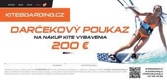 darčekový poukaz € 200