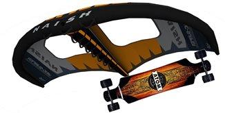 set Wingsurfer Naish S25+ longboard ATOM All Terrain