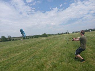 Landkiting - Harakiri kite kurz Brno 5.6.2021