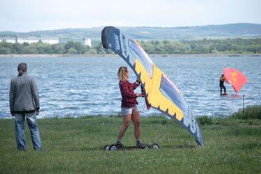 Kitesurfing - První seznámení s NAISH WING-SURFER