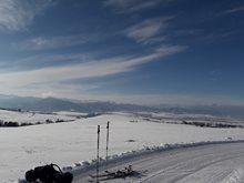 Slovensko - snowkite spot Liptov