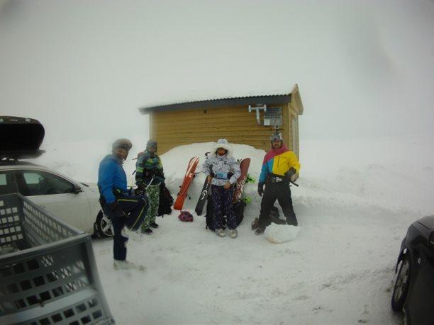 Harakiri_snowkiting_trip_Norsko_Geilo_day3_parkoviste.JPG
