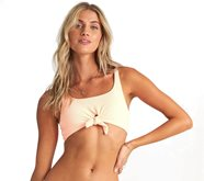 Bikini Top Billabong Under The Sun Tank Neon Peach