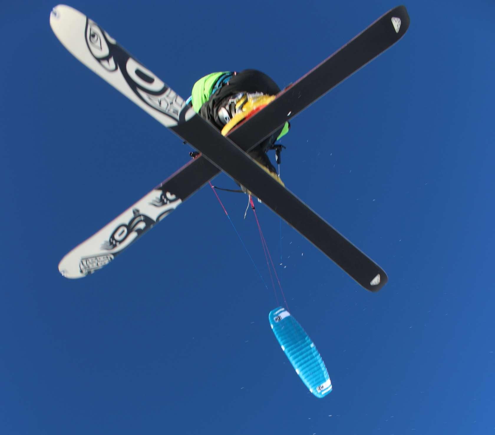 recenze Peter Lynn Nova - snowkiting airstyle