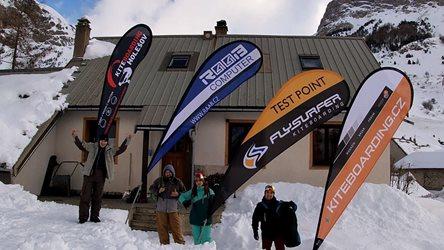 Snowkiting - Col Du Lautaret 2020