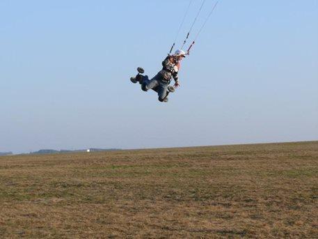 první jarní landkiting Havlbrod 1