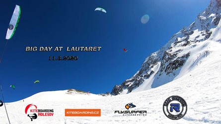 Snowkiting - Big Day in Lautaret