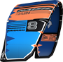 kite 2020-21 Naish Dash (Blue-Orange-Grey)