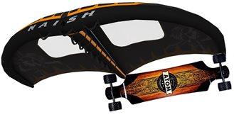 set Wingsurfer Naish S25 LE + longboard ATOM All Terrain