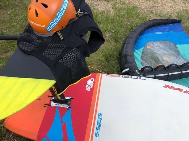 Wing-boarding-Naish-Wing-boarding-Tour-2020-Naish Wing-boarding Tour 2020 - vybavení připraveno