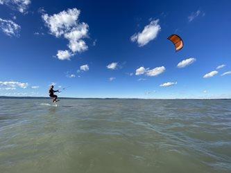 Kitesurfing - Nobile foil + kite 2021
