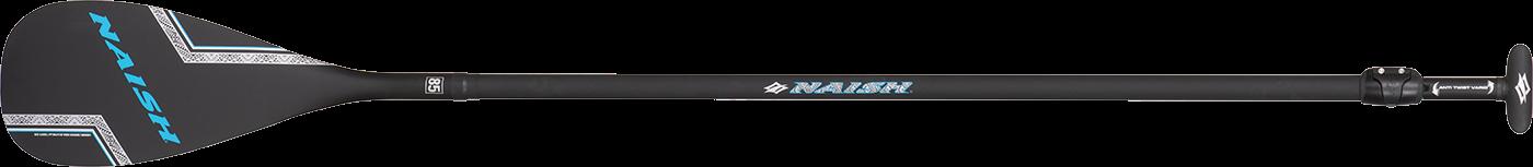 2-dílné SUP pádlo S25 Naish Carbon 85 SDS