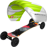 kite set PL Impulse TR + mountainboard KHEO FLYER v2