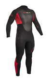 RESPONSE 3/2MM FL GUL WETSUIT RE1321 RED FL