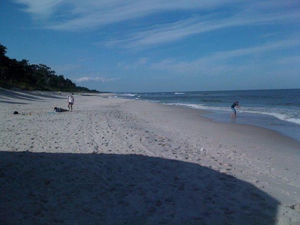 severní pláž je naprosto úžasná