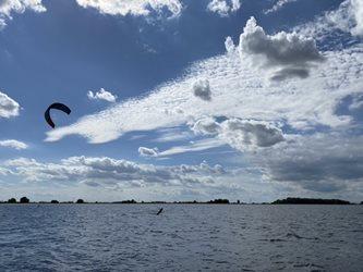 Kitesurfing - Zase na Králové