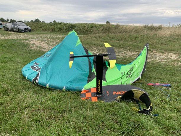Kitesurfing-Prvni-test-NAISH-KITE-FOIL-2020-