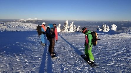 Snowkiting - snowkiting sezona martinky