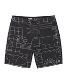 Boardshorts Billabong Sundays Lo Tides - Black