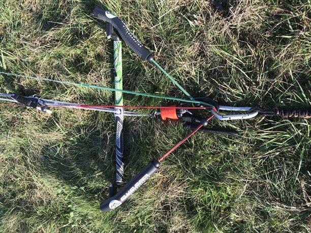 Buggykiting-Land-buggy-cvaknuté i řídící lajny