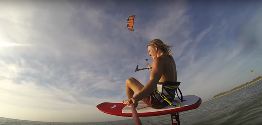 Kitesurfing - Drew Christianson: video edit Floating Away